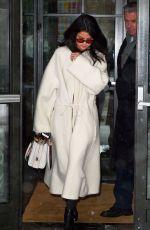 SELENA GOMEZ Leaves Her Hotel in New York 02/09/2017