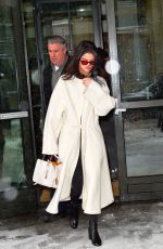 SELENA GOMEZ Leaves Her Hotel in New York 02/09/2017
