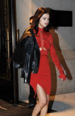 SELENA GOMEZ Night Out in New York 02/14/2017