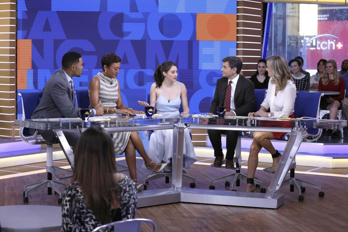 Good Morning America Nyc : Shailene woodley at good morning america in new york