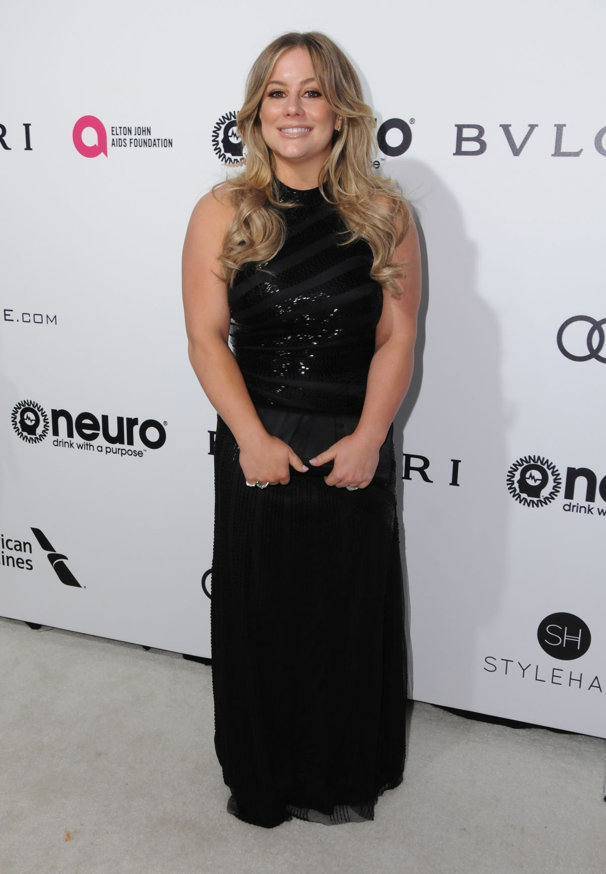 SHAWN JOHNSON at 25th Annual Elton John Aids Foundation's Oscar Viewing Party in Hollywood 02/26/2017