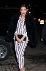 SHAY MITCHELL Night Out in New York 02/14/2017