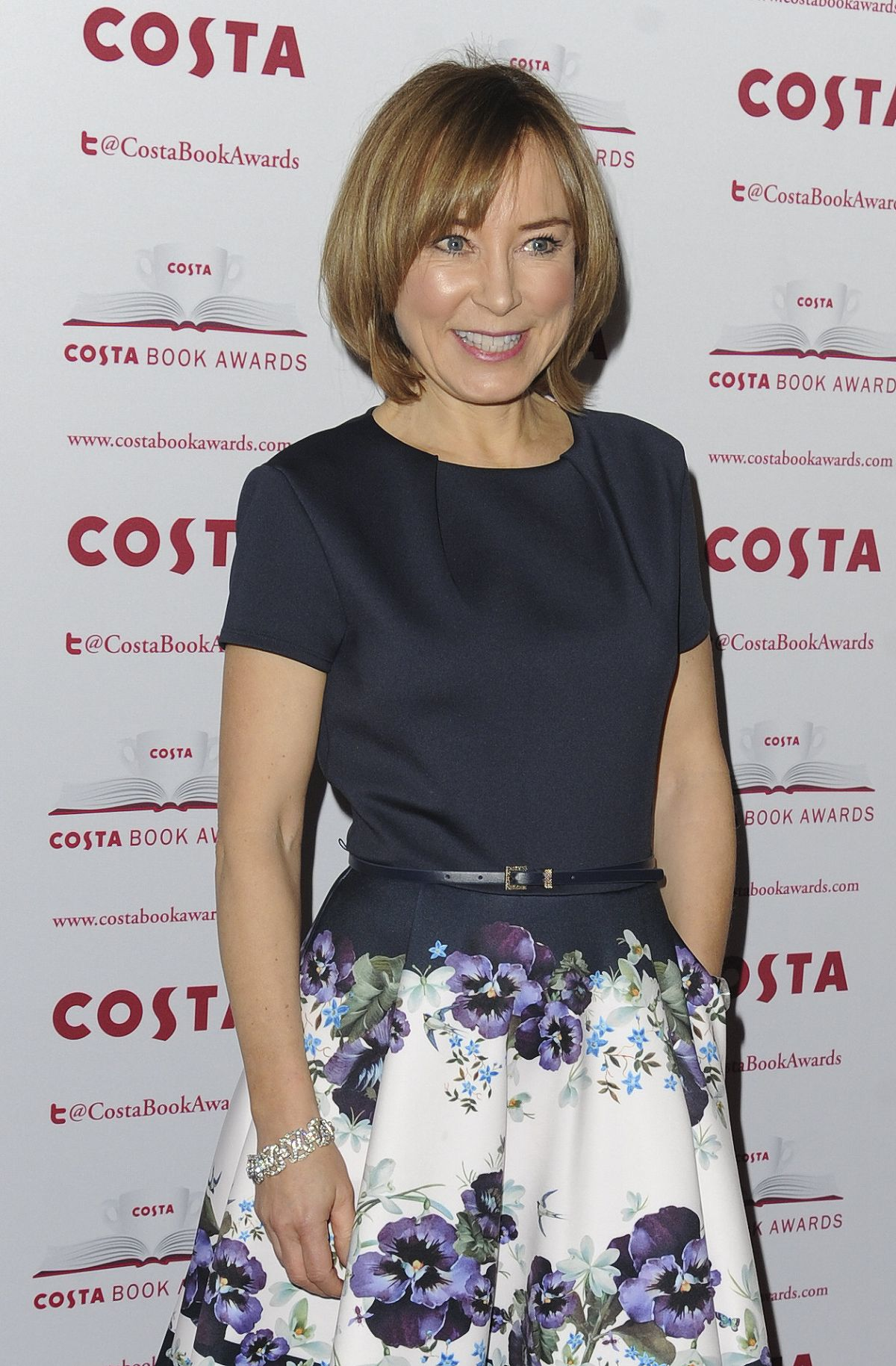 SIAN WILLIAMS at Costa Book Awards in London 01/31/2017