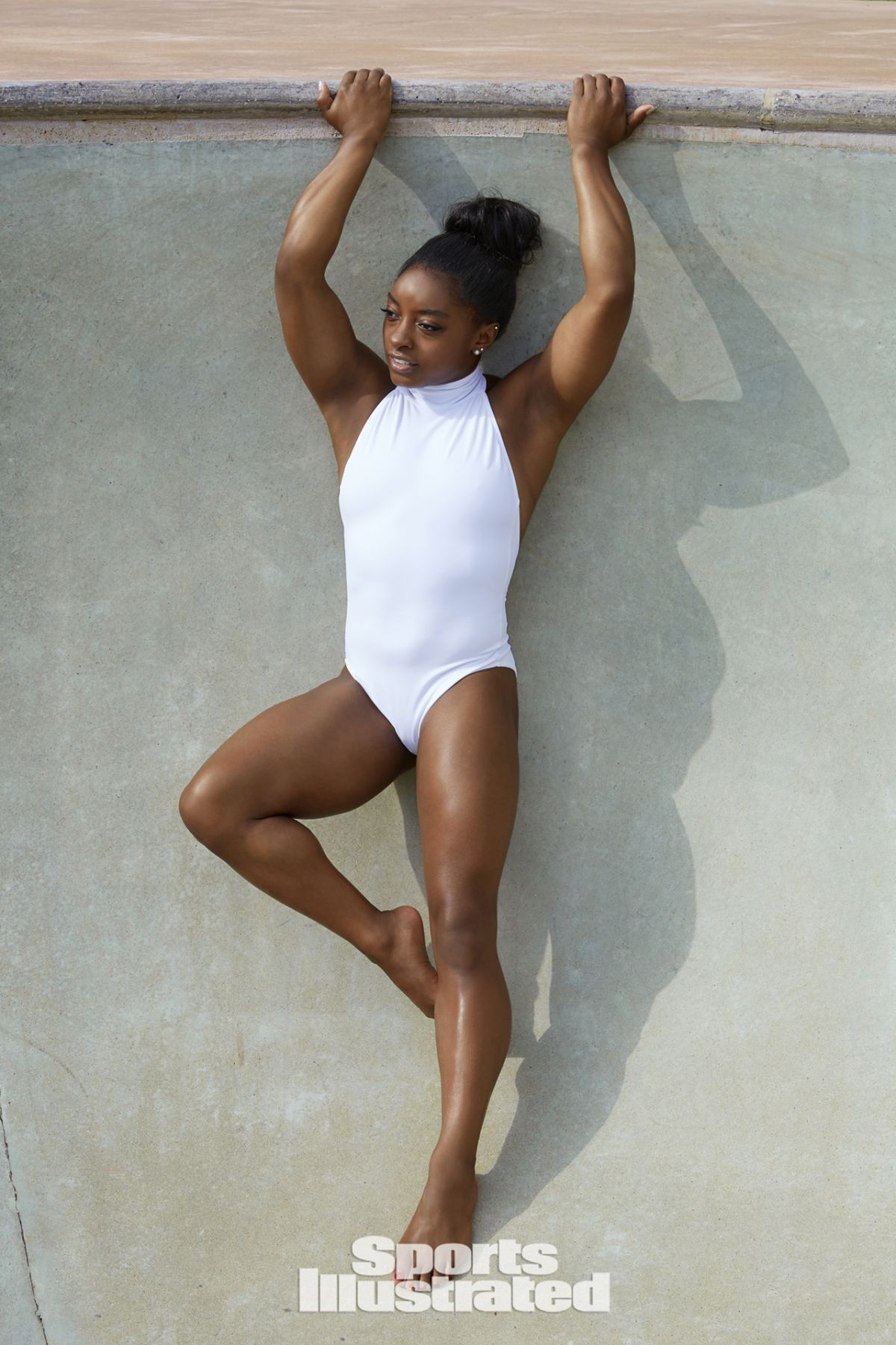 SIMONE BILES in SI Swimsuit Edition 2017