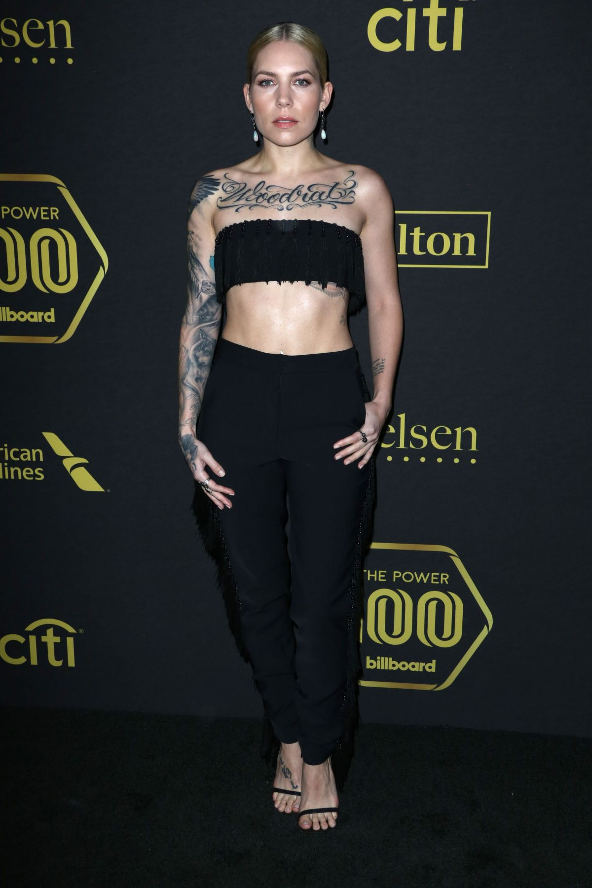 SKYLAR GREY at Billboard Power 100 in West Hollywood 02/09/2017