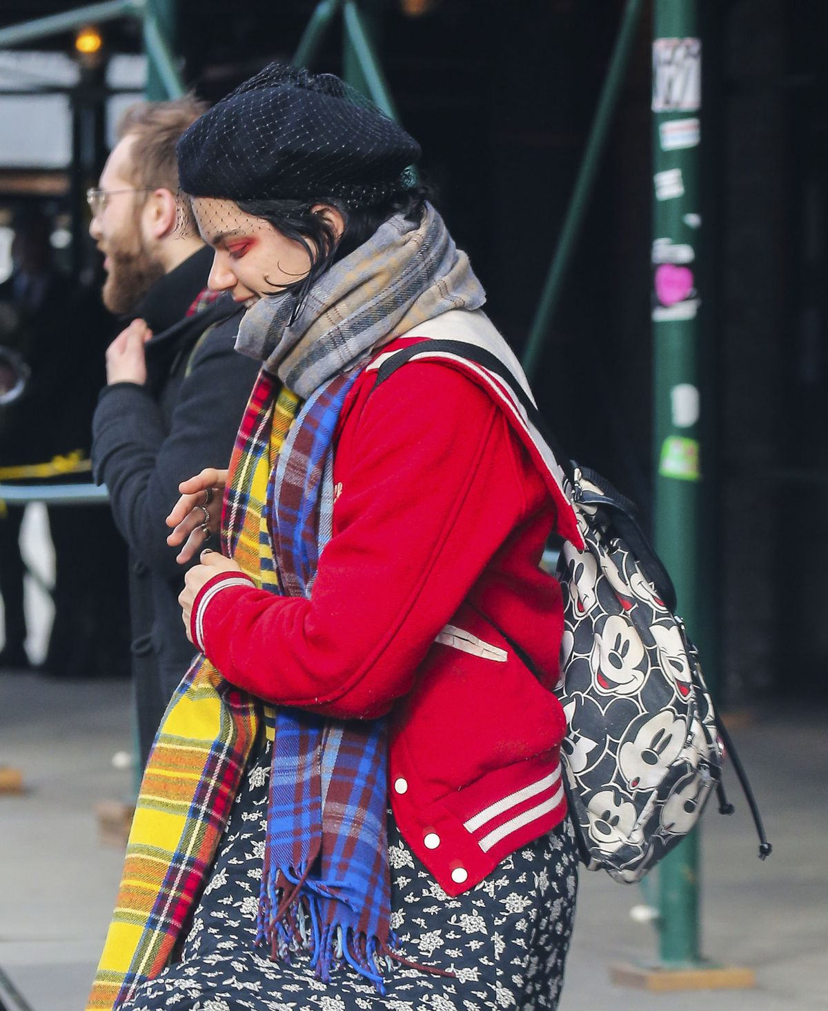 SOKO Out and About in New ork 02/18/2017 - HawtCelebs ...