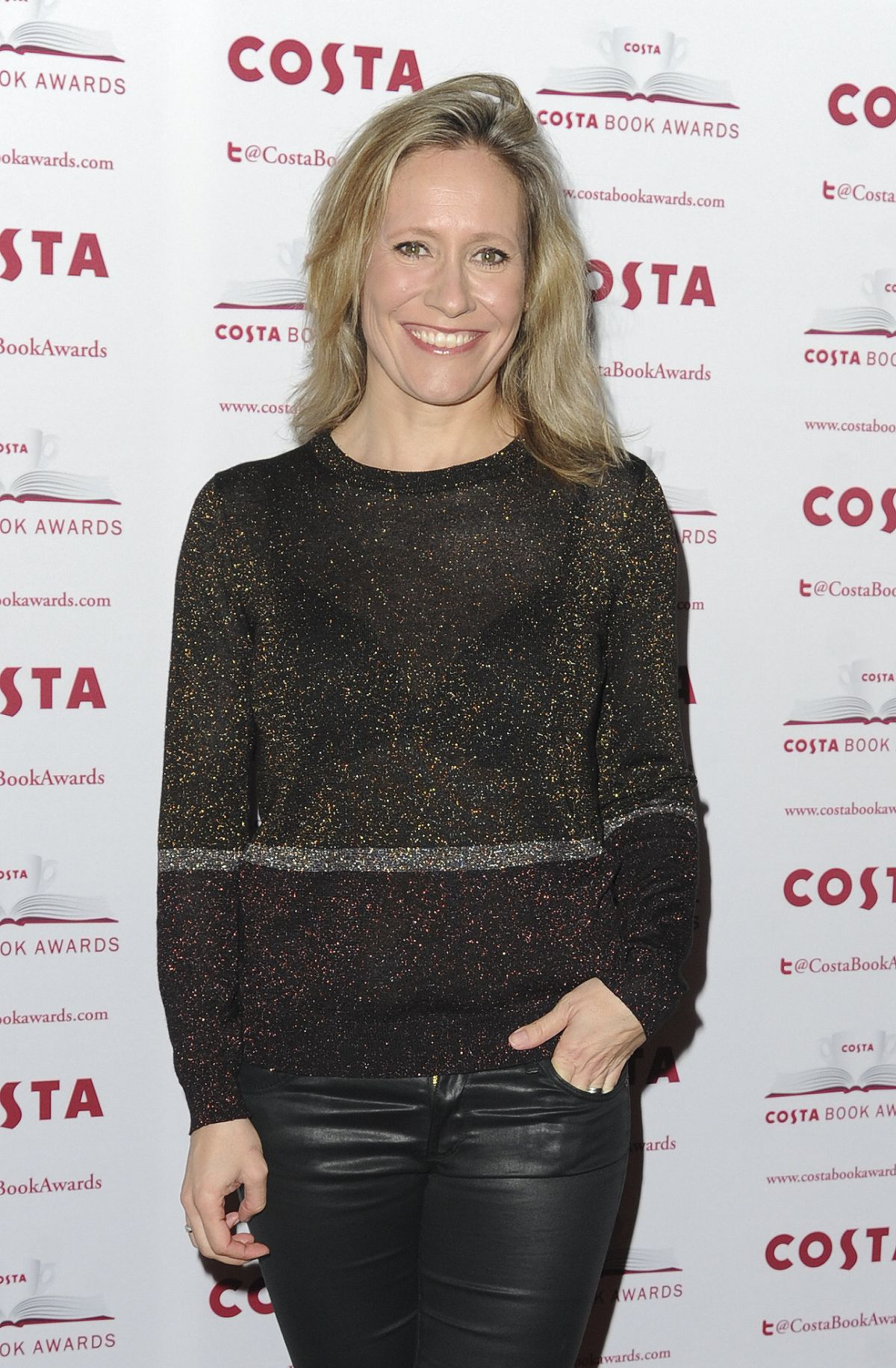 SOPHIE RAWORTH at Costa Book Awards in London 01/31/2017
