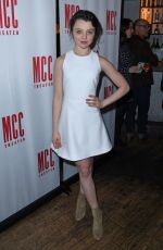 STEFANIA OWEN at Yen Opening Night at Lortel Theatre in New York 01/31/2017