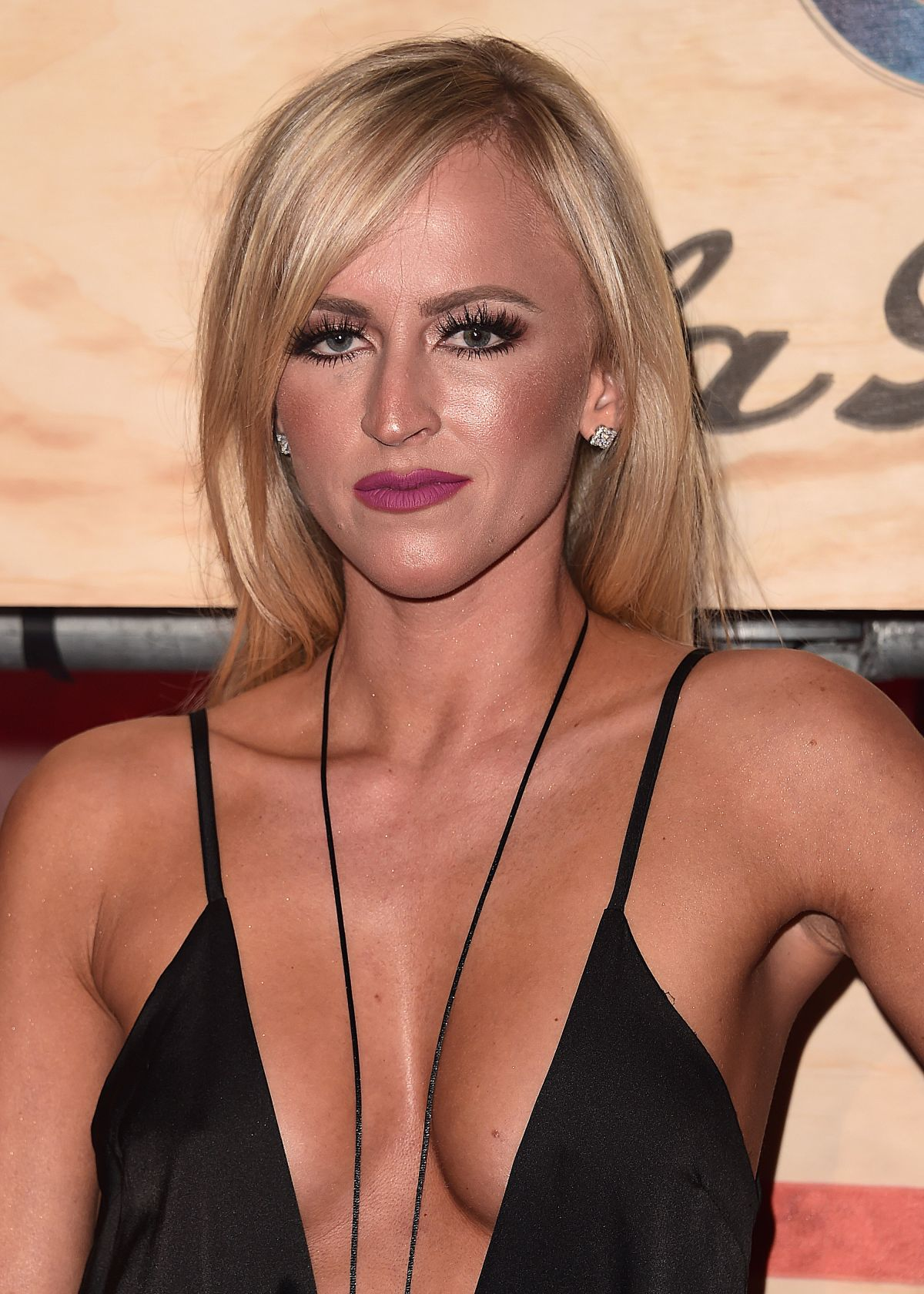 SUMMER RAE at 13th Annual ESPN Party in Houston 02/03/2017