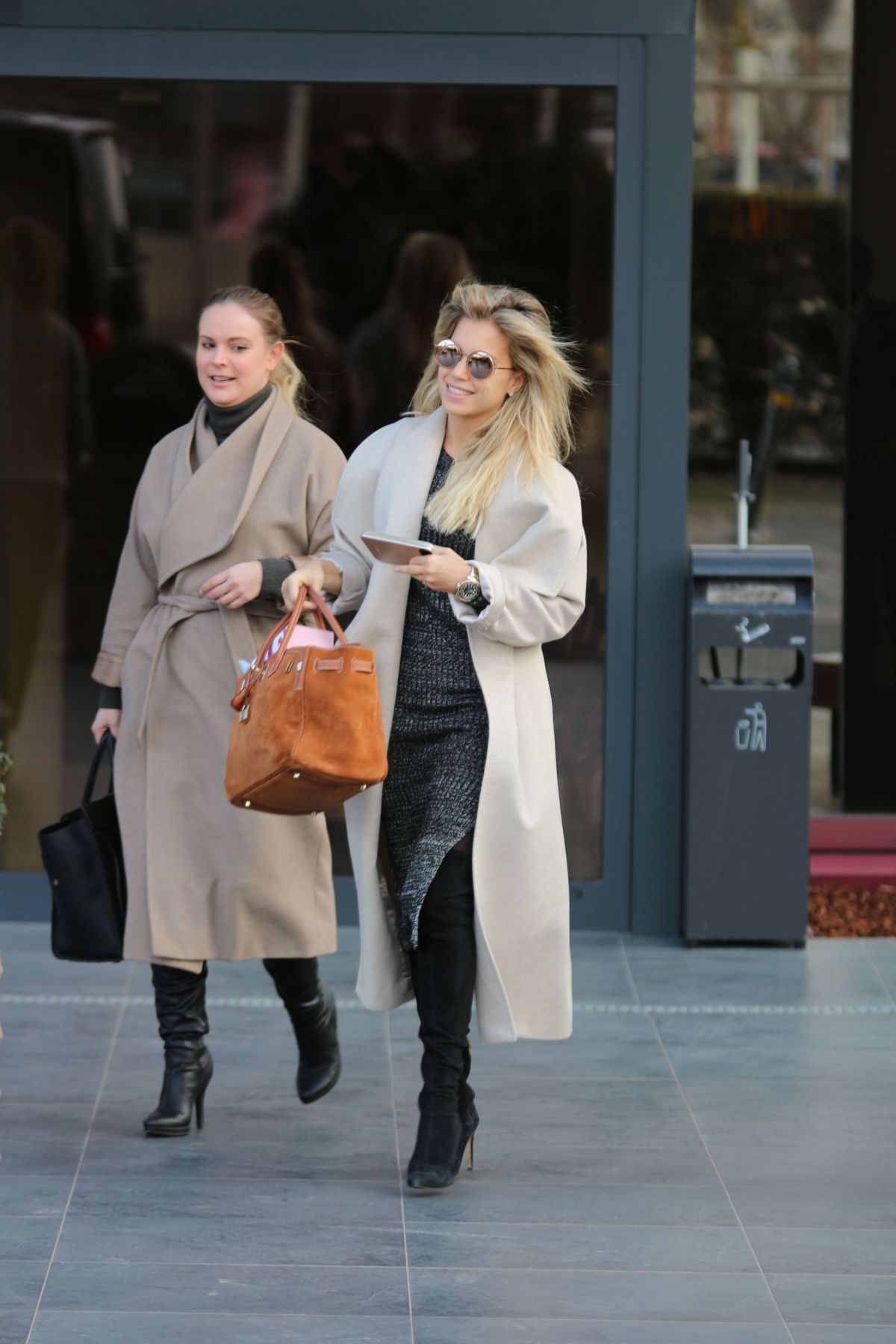 SYLVIE MEIS Out nad About in Cologne 02/24/2017