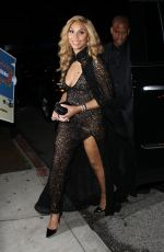 TAMAR BRAXTON Arrives at CAA Event at Hyde in Los Angeles 02/1/2017