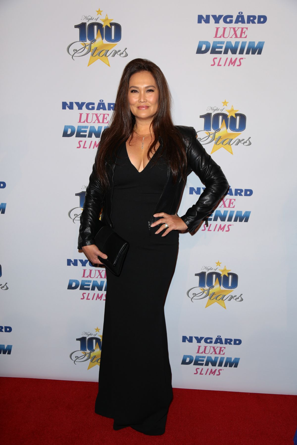 TIA CARRERE at 27th Annual Night of 100 Stars Black Tie Dinner in Beverly Hillls 02/26/2017