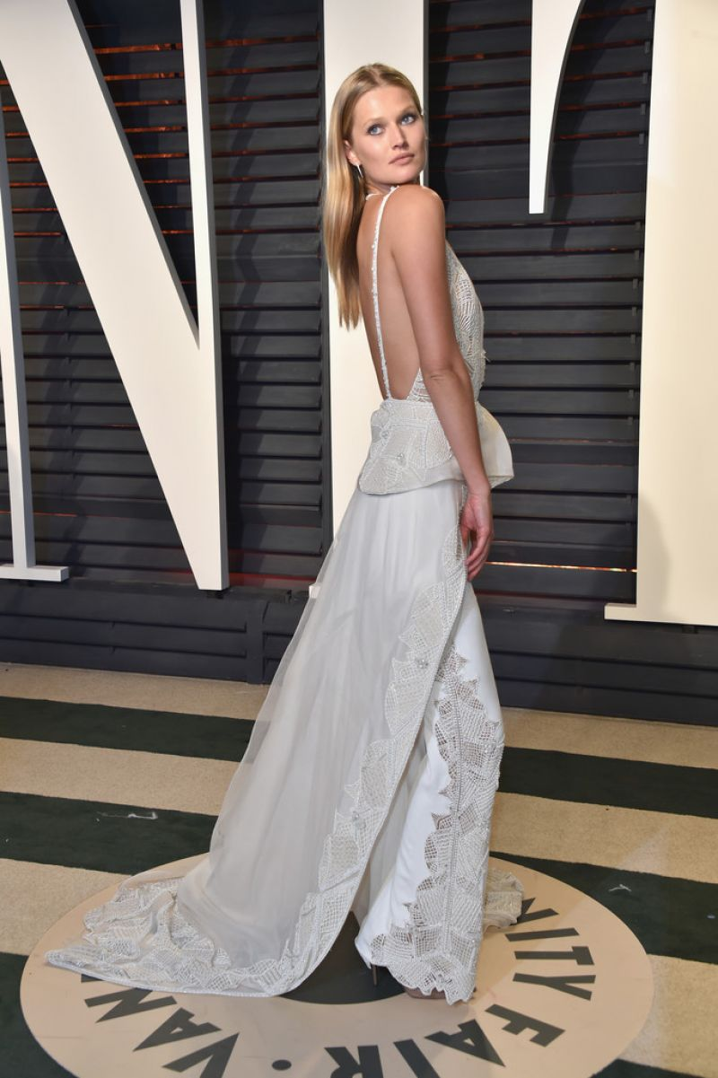 TONI GARRN at 2017 Vanity Fair Oscar Party in Beverly Hills 02/26/2017