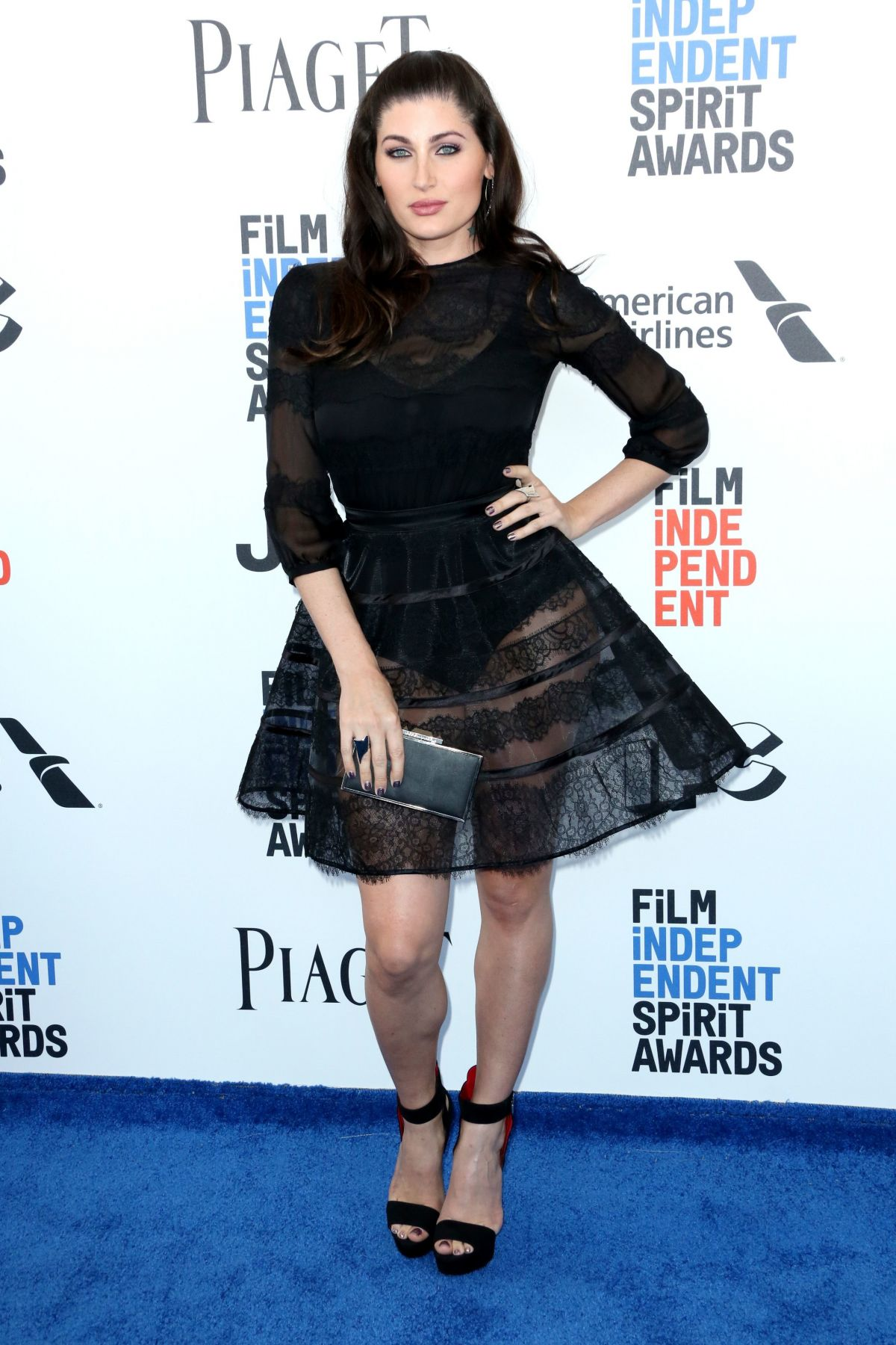 TRACE LYSETTE at 2017 Film Independent Spirit Awards in Santa Monica 02/25/2017