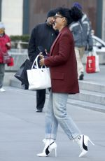 TRACEE ELLIS ROSS Out and About in New York 02/06/2017