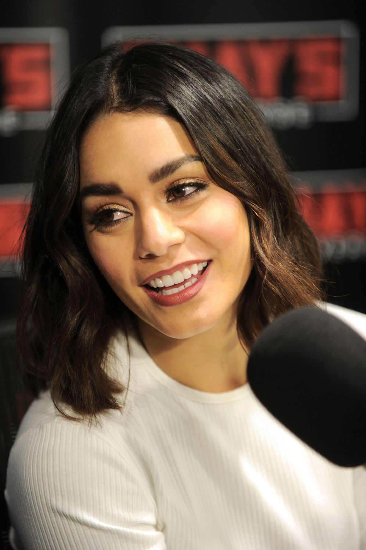VANESSA HUDGENS at SirisXM Radio in New York 01/30/2017 ... Vanessa Hudgens