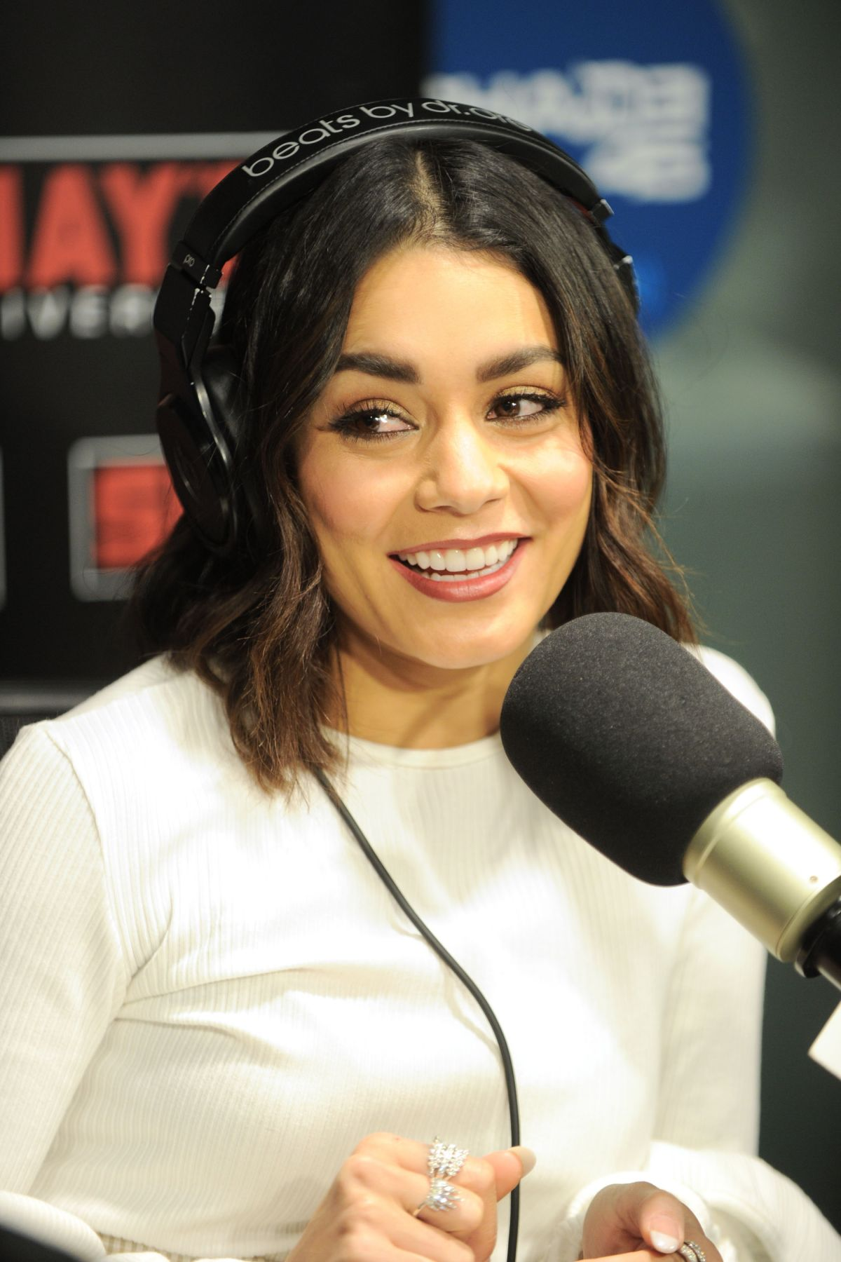 VANESSA HUDGENS at Sir...
