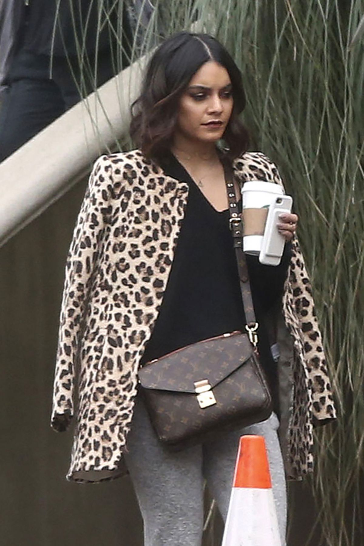 VANESSA HUDGENS Out in Studio City 02/06/2017