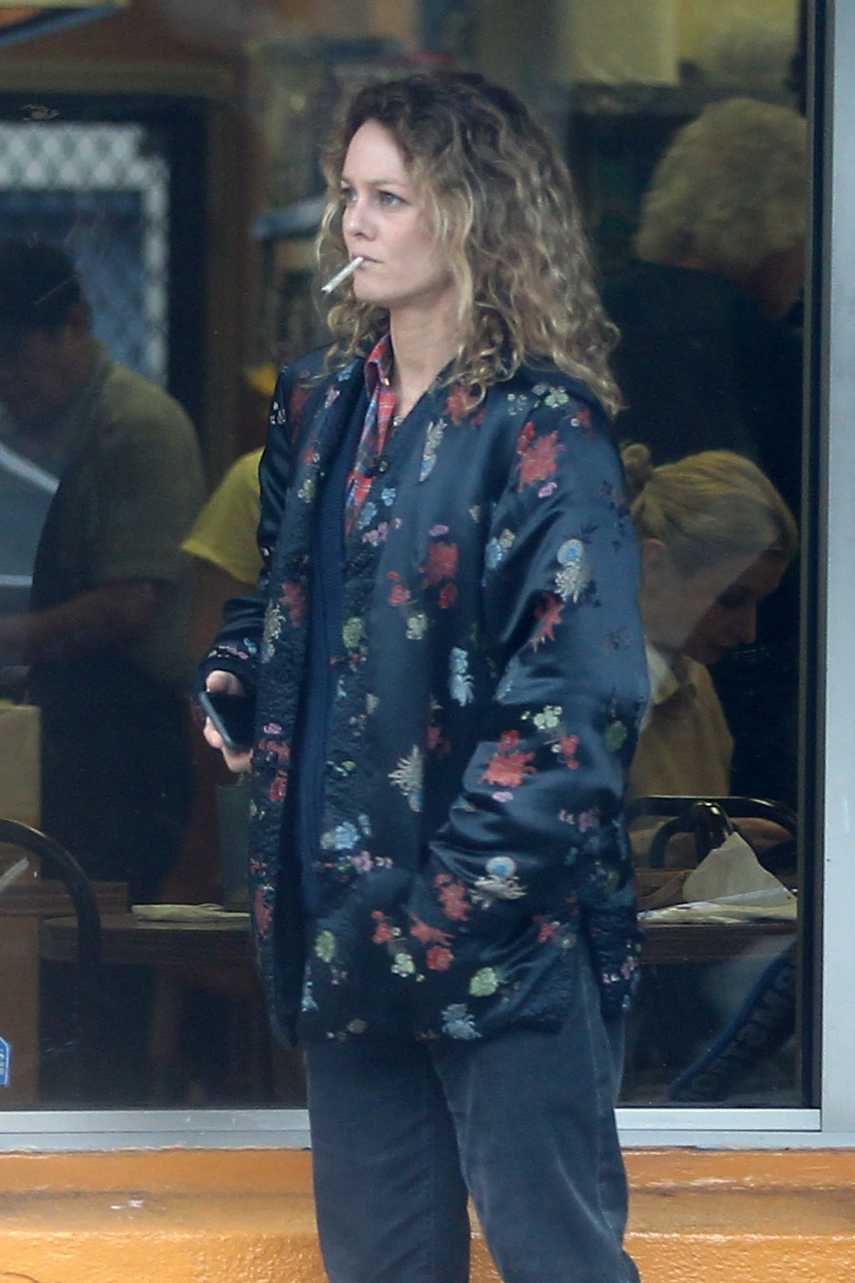VANESSA PARADIS Out in Beverly Hills 02/10/2017