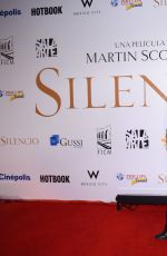 VERONICA JASPEADO at Silence Premiere in Mexico City 02/16/2017