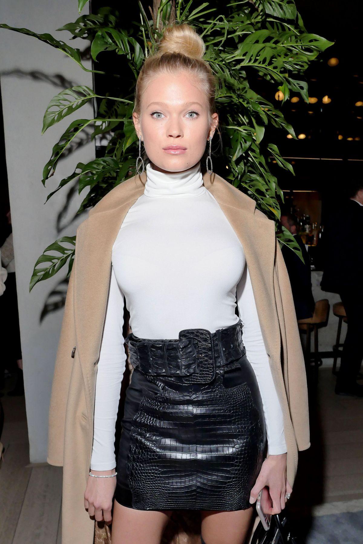 VITA SIDORKINA at Moncler Grenoble Fashion Show in New York 02/14/2017