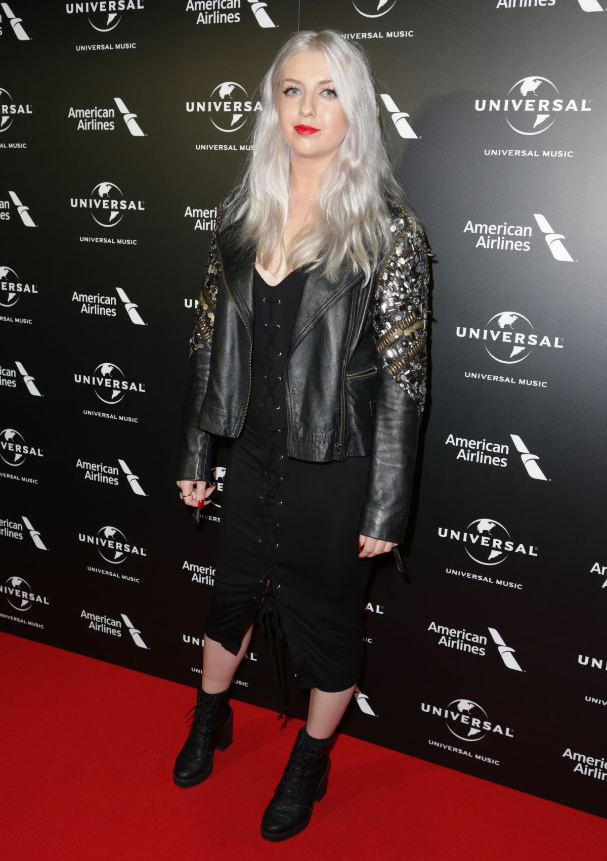 VUDA at Universal Music Pre-brit Award Party in London 02/20/2017