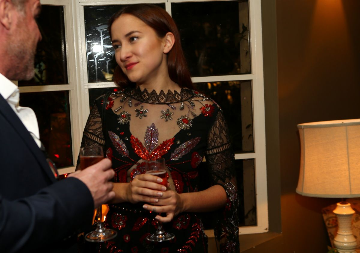 ZELDA WILLIAMS at Gemfields Oscars Cocktail Party in Los Angeles 02/24/2017