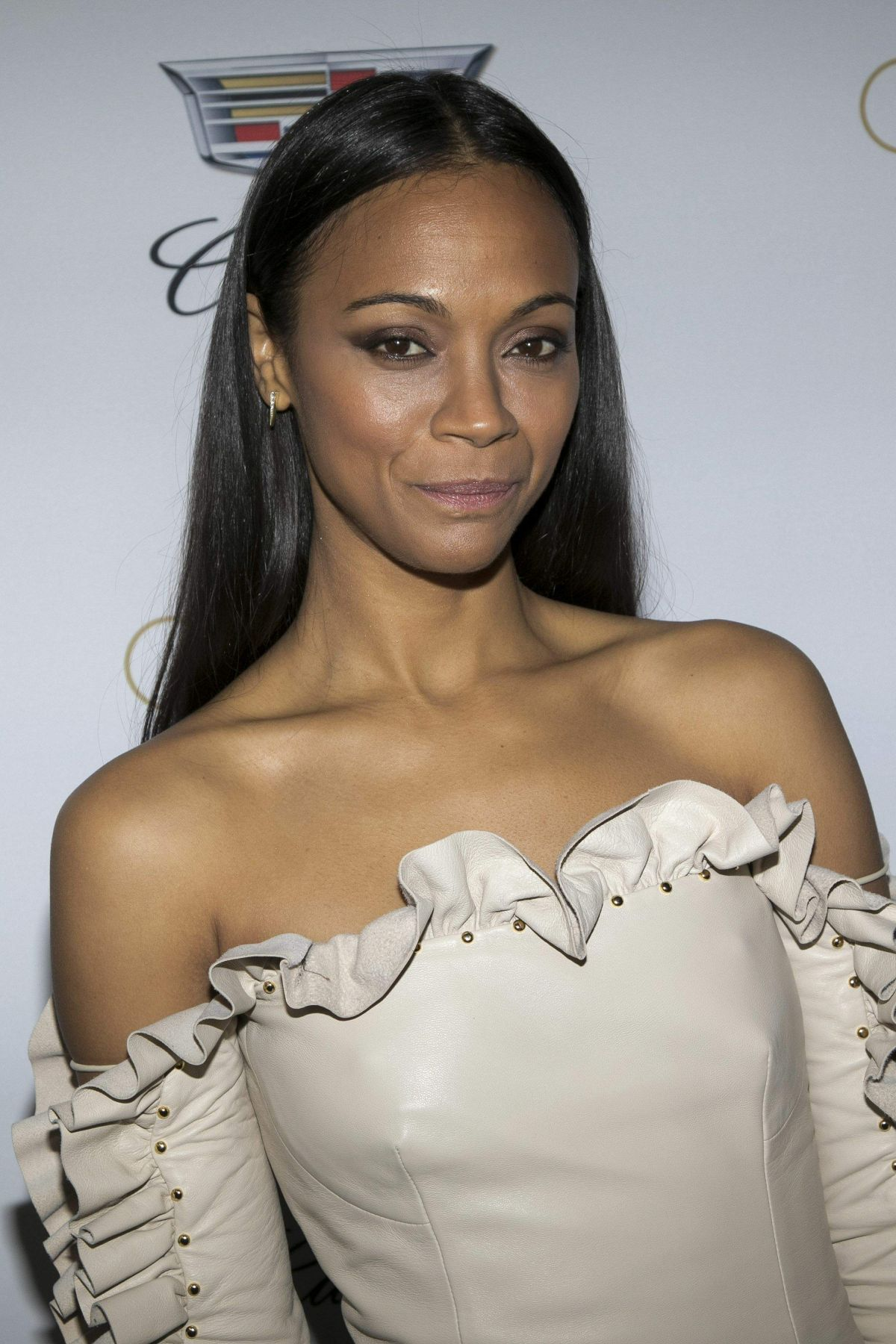 ZOE SALDANA at Cadillac's 89th Annual Academy Awards ... Zoe Saldana