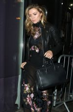 ABIGAIL ABBEY CLANCY Leaves Britain