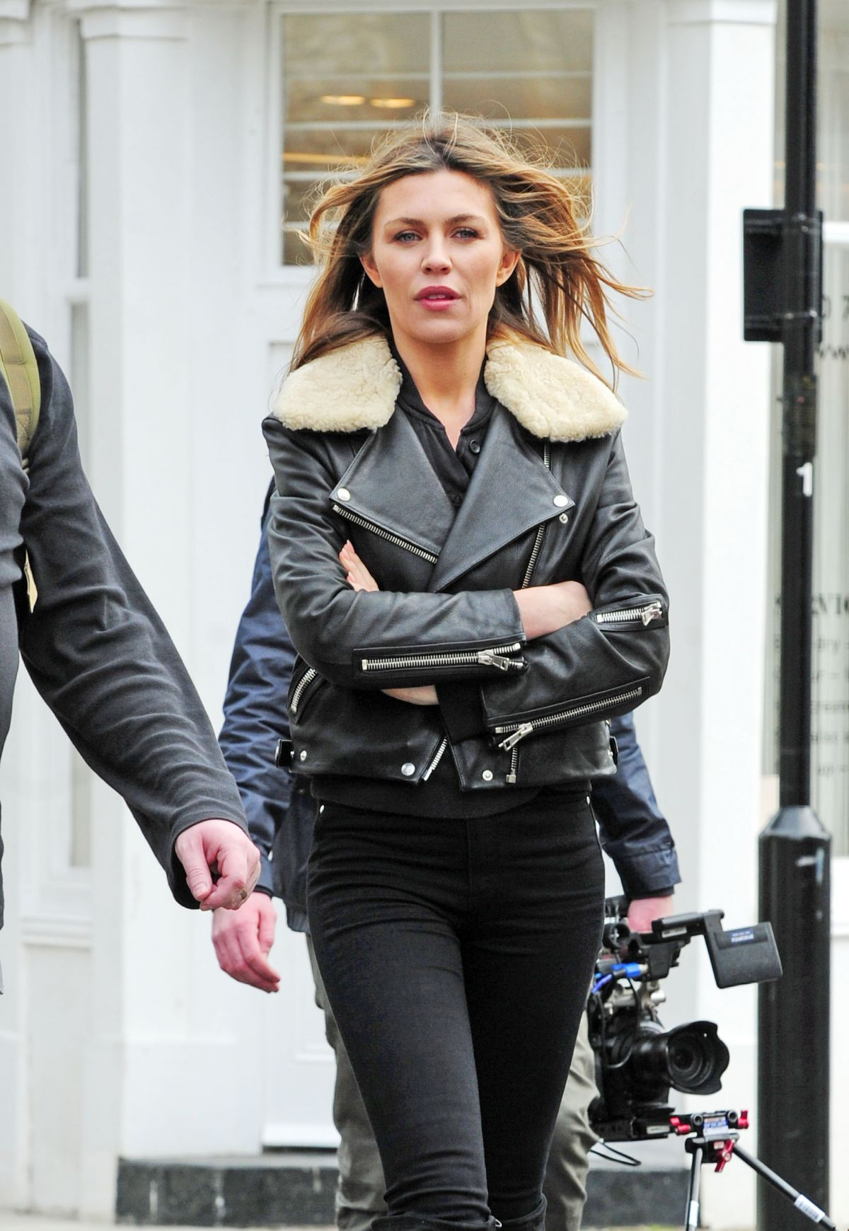 ABIGAIL ABBEY CLANCY Out in Notting Hill 03/14/2017