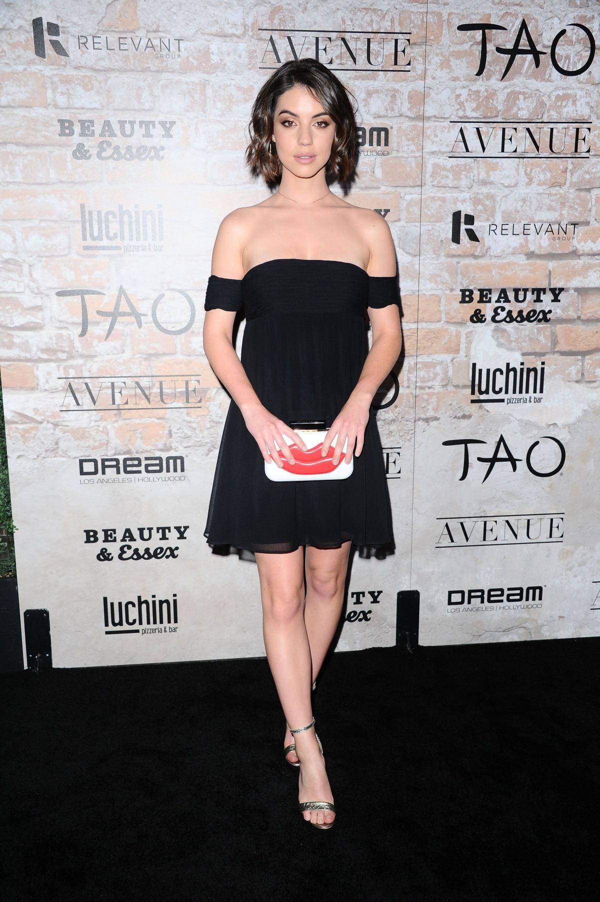ADELAIDE KANE at Tao, Beauty + Essex, Avenue + Luchini La Grand Opening 03/16/2017