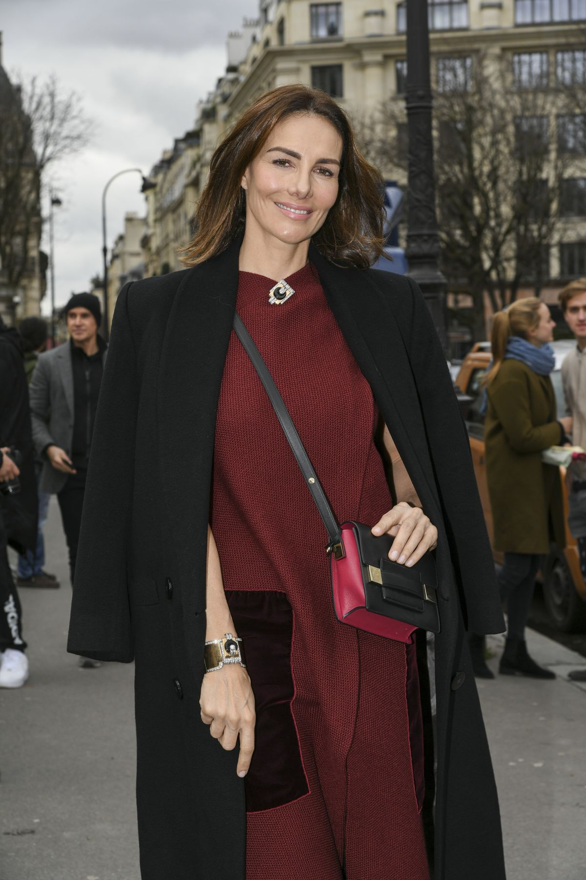 ADRIANA ABASCAL at Moncler Fashion Show in Paris 03/07/2017