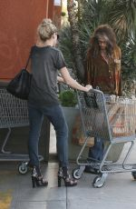 AIMEE ANN PRESTON Out for Grocery Shopping in West Hollywood 03/16/2017