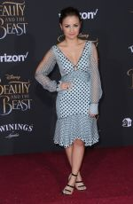 AIMEE CARRERO at Beauty and the Beast Premiere in Los Angeles 03/02/2017