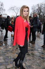 AISHA AL THANI Arrives at Elie Saab Fashion Show in Paris 03/04/2017
