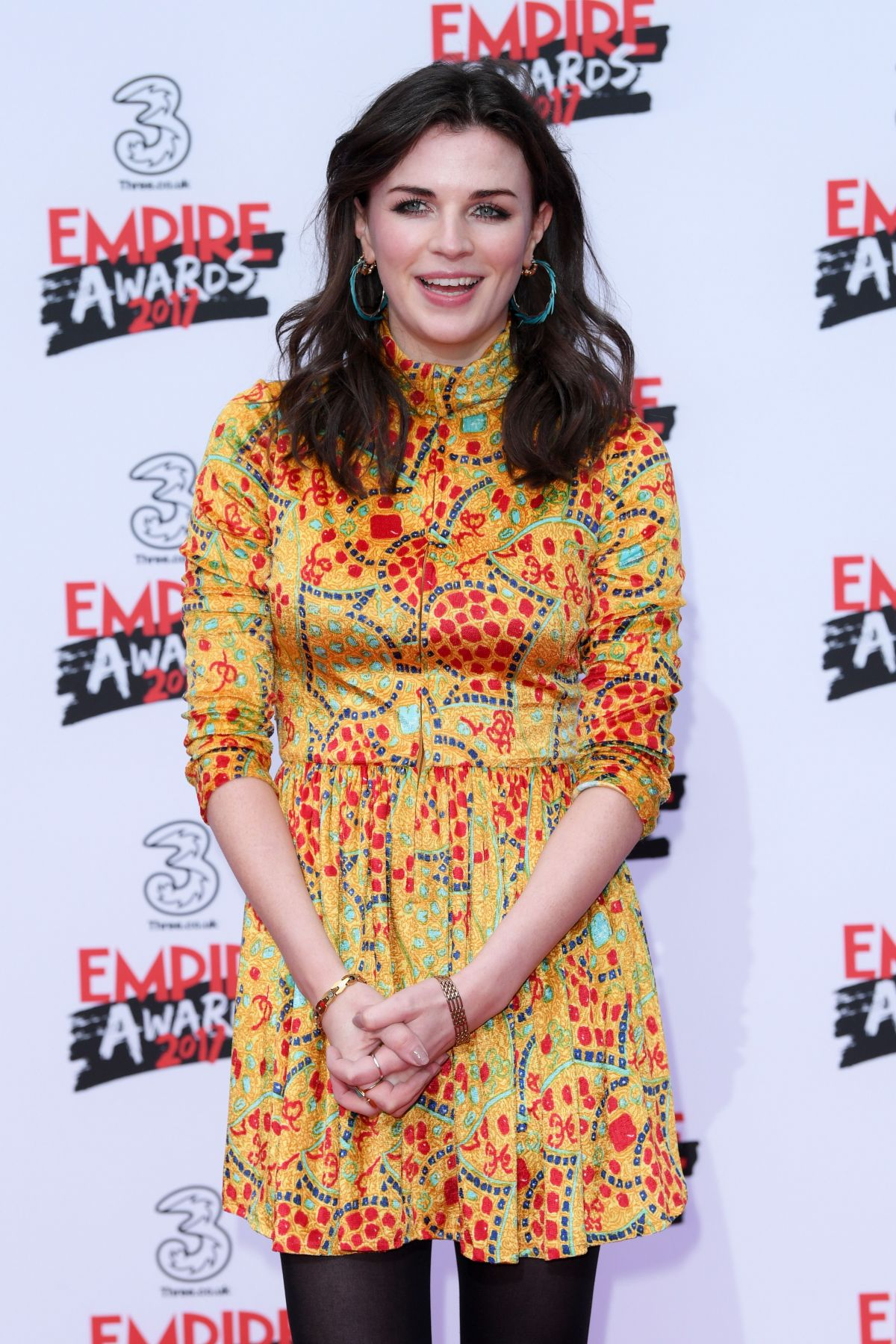 AISLING BEA at Three Empire Awards in London 03/19/2017