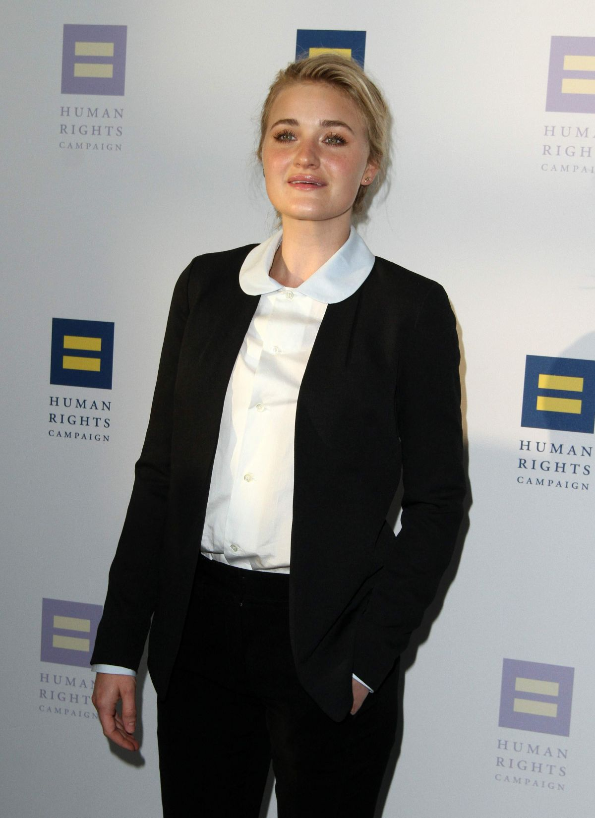 AJ MICHALKA at Human Rights Campaign Gala Dinner in Los Angeles 03/18/2017