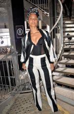 ALICIA KEYS at Rick Owens Fashion Show at PFW in Paris 03/02/2017