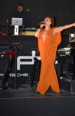 ALICIA KEYS Performs at Porsche Design Tower Miami in Sunny Isles 03/18/2017