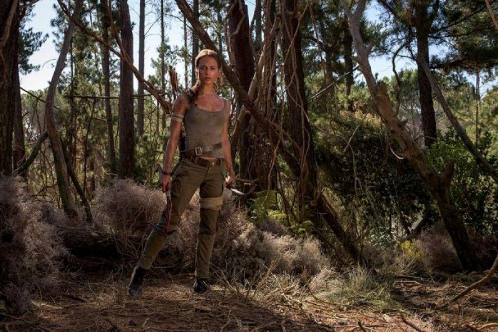 ALICIA VIKANDER - Tomb Raider 2018 Promos - HawtCelebs ...