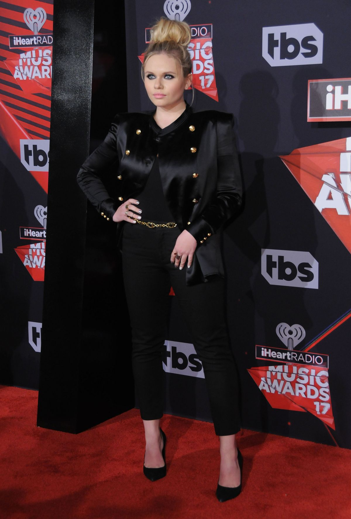 ALLI SIMPSON at 2017 iHeartRadio Music Awards in Los Angeles 03/05/2017