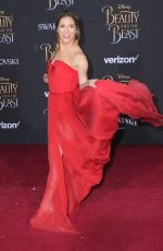 ALLISON HOLKER at Beauty and the Beast Premiere in Los Angeles 03/02/2017