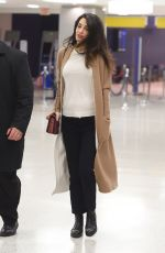 AMAL CLOONEY at JFK Airport in New York 03/11/2017
