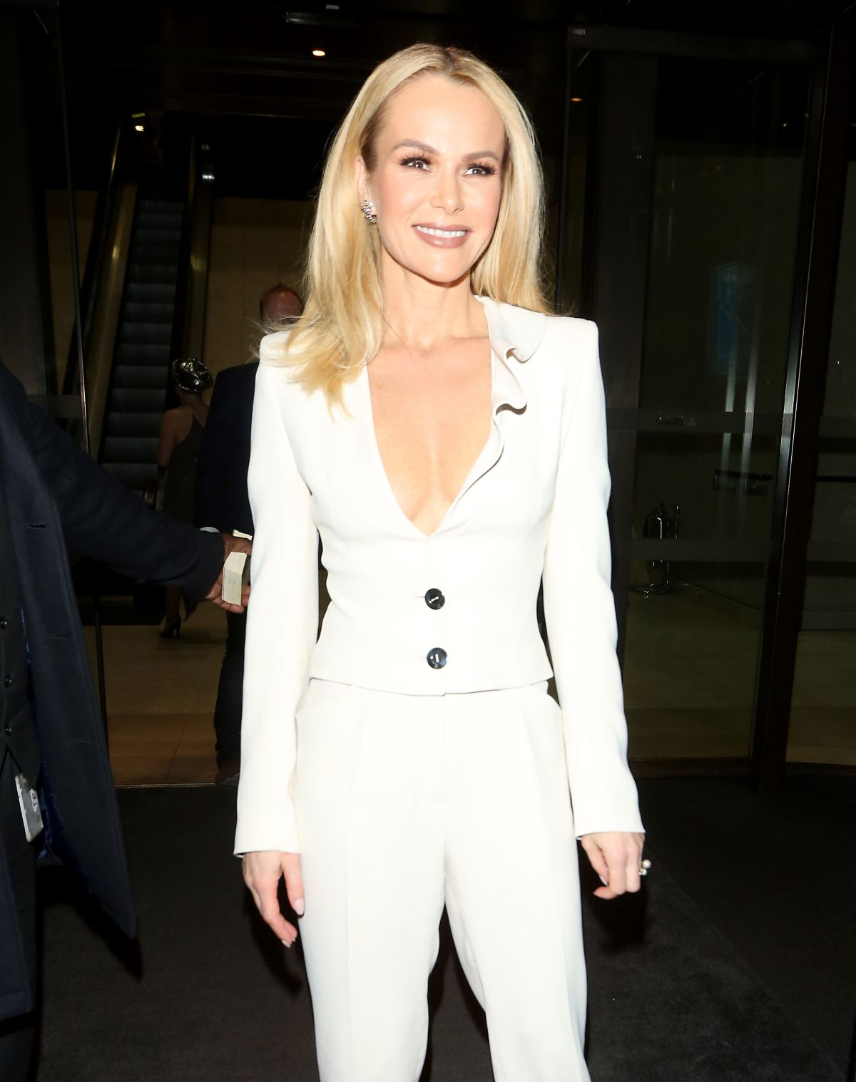 AMANDA HOLDEN at Stepping Out Theatre Afterparty in London 03/14/2017