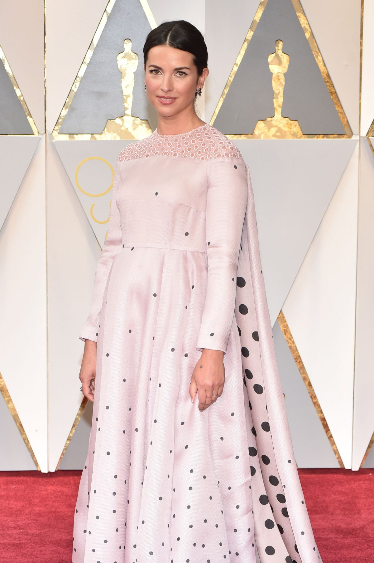 AMELIA WARNER at 89th Annual Academy Awards in Hollywood 02/26/2017