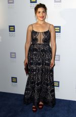 AMERICA FERRERA at Human Rights Campaign Gala Dinner in Los Angeles 03/18/2017