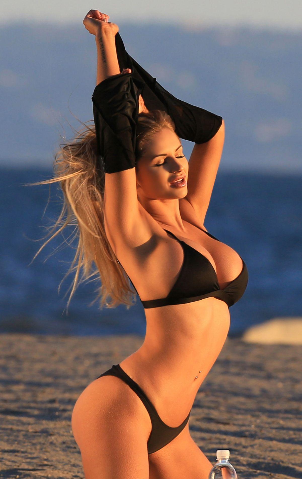 AMY LEE SUMMERS in Bikini for 138 Water Photoshoot in Laguna Beach 03/09/2017