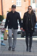 ANA IVANOVIC and Bastian Schweinsteiger Out in Cheshire 03/09/2017