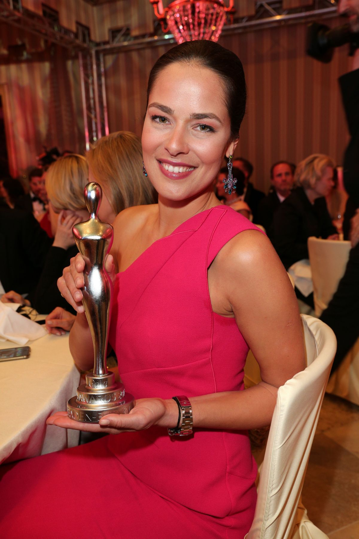 ANA IVANOVIC at Gala SPa Awards Brenners Parkhotel Spa in ...