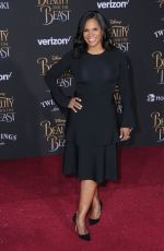 ANDRA MCDONALD at Beauty and the Beast Premiere in Los Angeles 03/02/2017